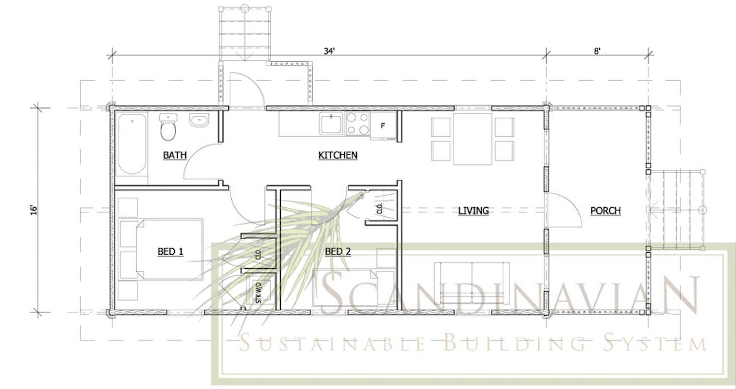 Bahamas – Floor Plan