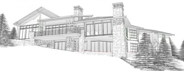 Sunset Ridge – Back Design